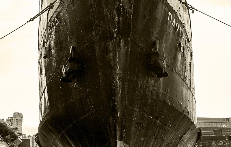 Schiffswrack in Dublin