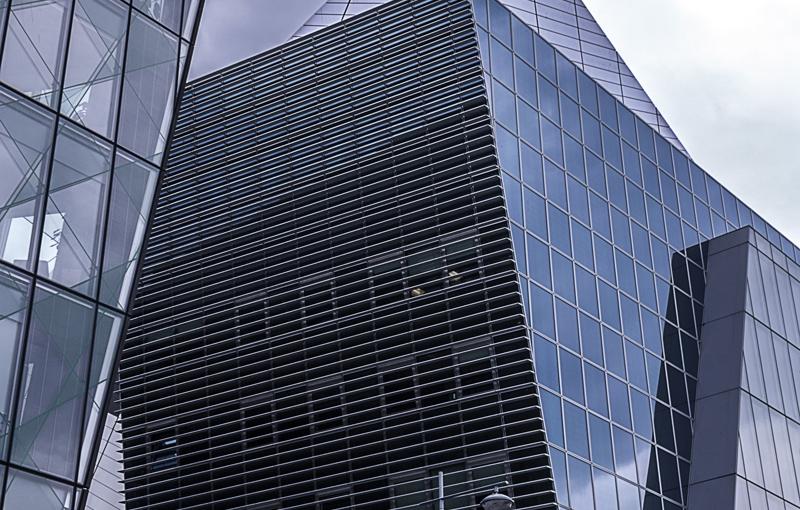 Glasturm in Dublin